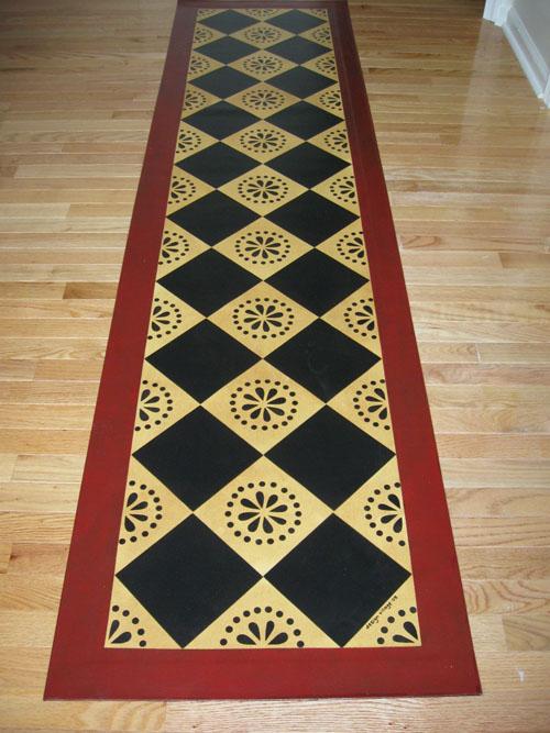 Lunenburg Floorcloth Design Village Floorcloths