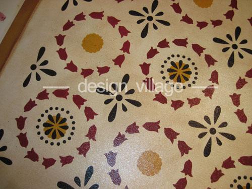 Sampler Quilt Floorcloth