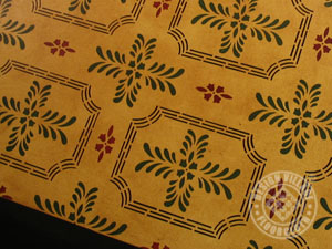 Bump Tavern Floorcloth