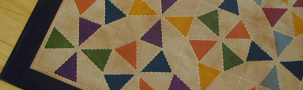 Kaleidoscope Floorcloth