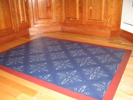 Edward Durant Floorcloth