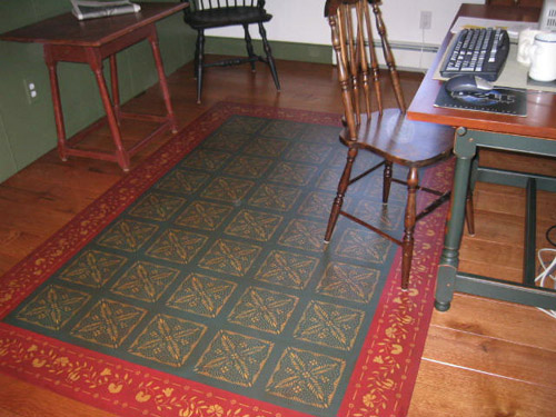 Durant House Floorcloth