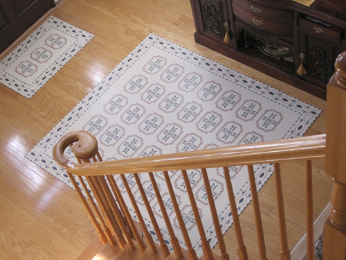 Farnum House Floorcloth