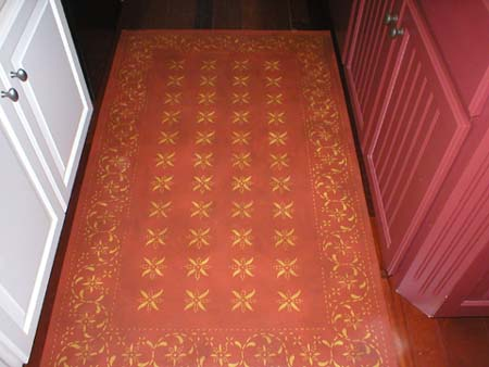 May House Floorcloth