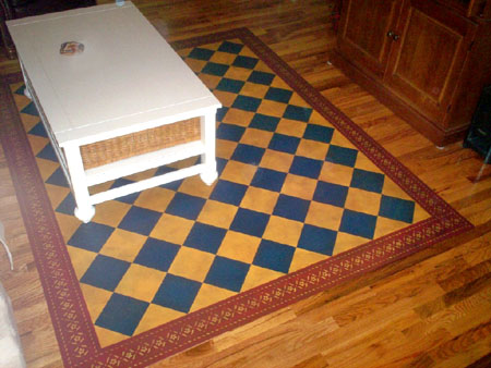 Sherwood Floorcloth