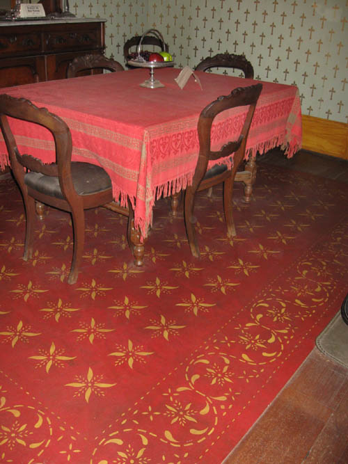 Whaley House Floorcloth