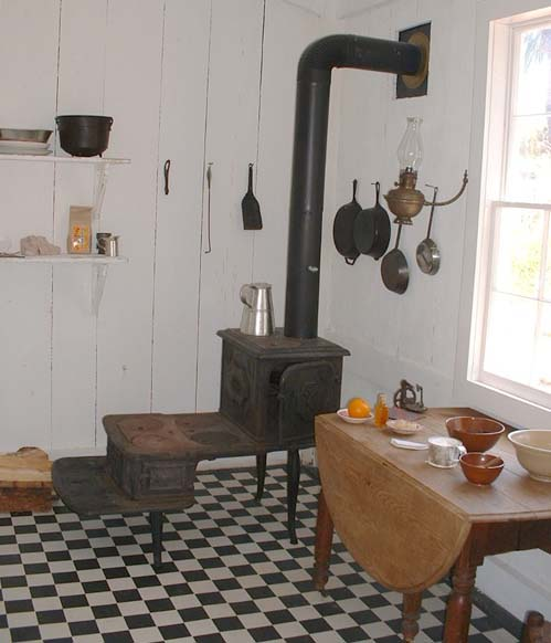 Whaley House Kitchen