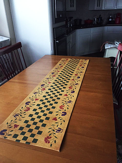 Durant House Table Runner