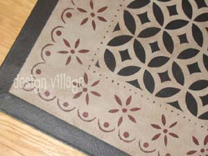 historic reproduction floorcloths :: design village floorcloths