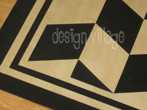 Herringbone Floorcloth