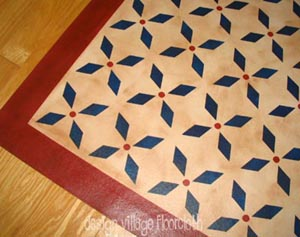Weston Colonial Floor Cloth #2