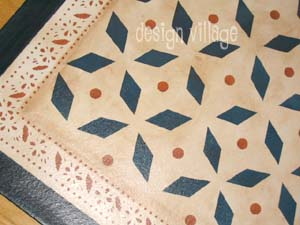 Weston Colonial Floorcloth #5
