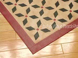 Weston Colonial Floor Cloth #1