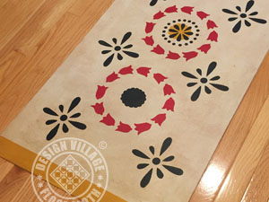 Cutler House Floorcloth #5