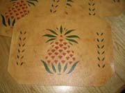 Pineapple placemats