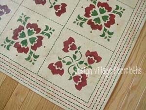 Baltimore Quilt Floorcloth #1
